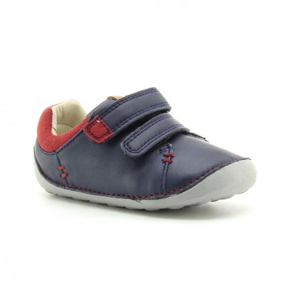Zapatos bebé Clarks Tiny Toby Azul