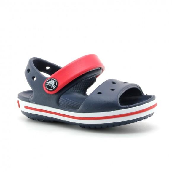 Crocs Crocband Sandal Azul-Rojo