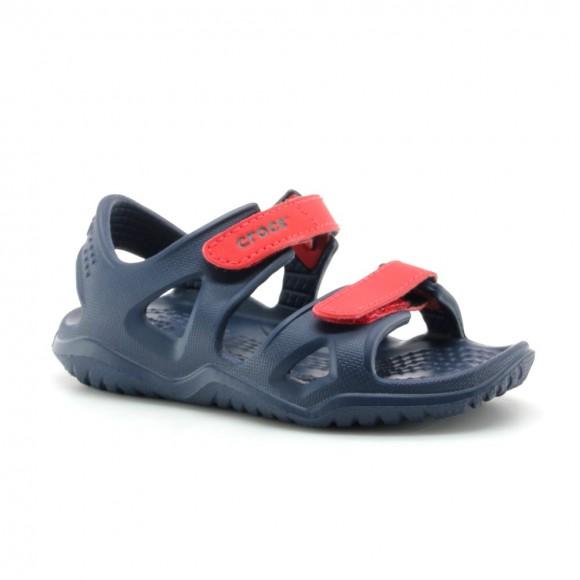 Crocs Swiftwater River Azul-Rojo