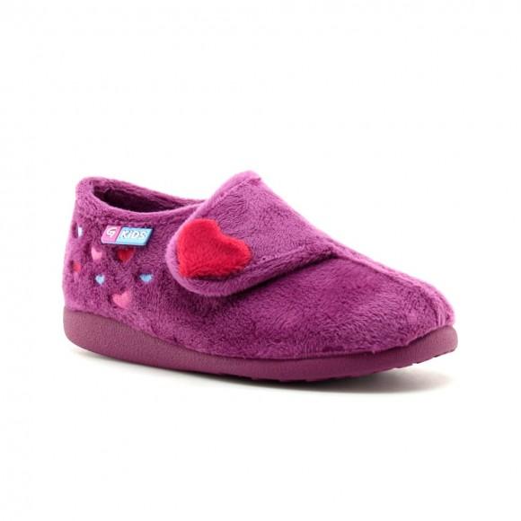 Zapatillas de casa Garzon Violeta