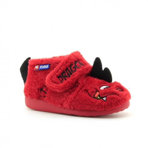 Zapatillas de casa Garzon Dragon rojo