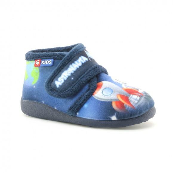 Zapatillas casa Garzón Astronauta Azul