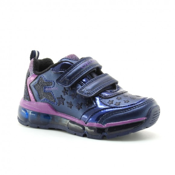 Zapatillas Geox Android Azul luces