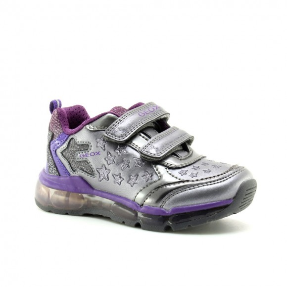 Zapatillas Geox Android Gris luces