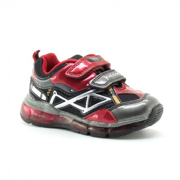 Zapatillas con luces Geox Android Rojo
