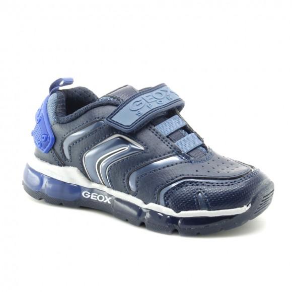 Zapatillas con luces Geox Android Azul