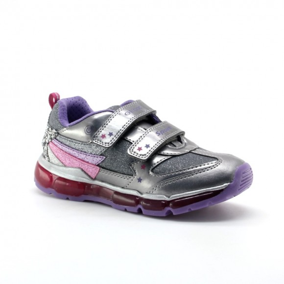 Zapatillas con luces Geox Android Gris