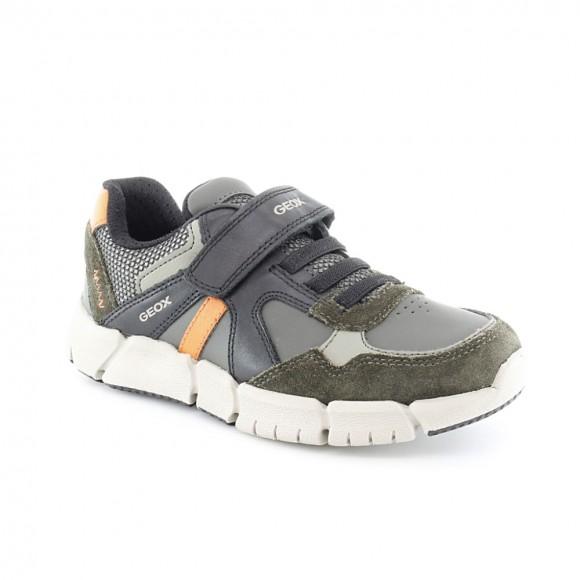 Zapato Geox Flexyper Verde-Naranja