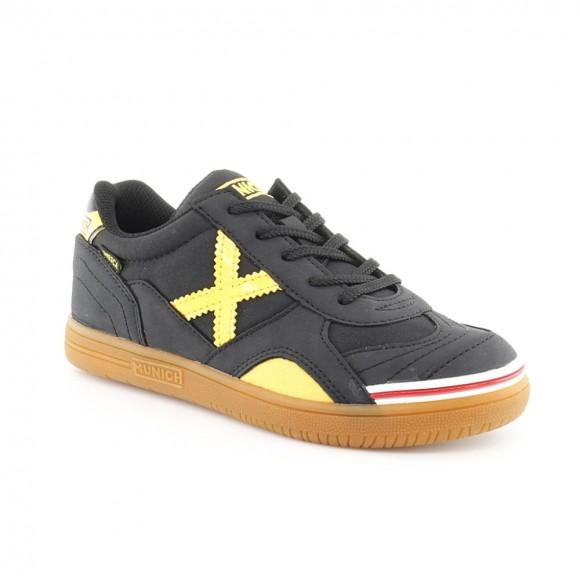 Zapatillas Munich Gresca Negro-Amarillo C