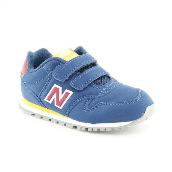 Zapatillas New Balance 500 Azul-Rojo