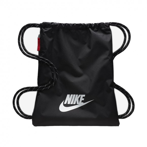 Bolsa Nike Heritage Negro-Blanco