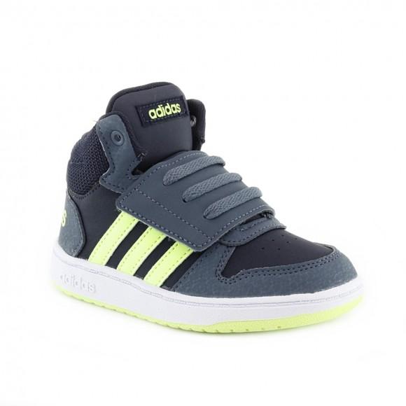 Zapatillas Adidas Hoops Mid Gris-Lima