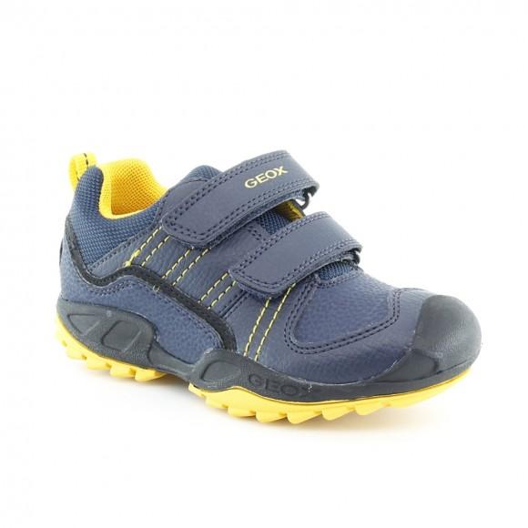 Zapato Geox Savage Azul-Amarillo