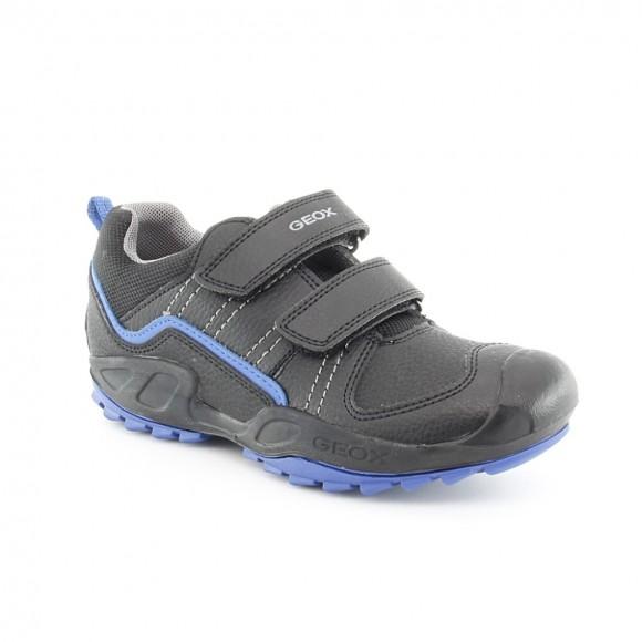 Zapato Geox Savage Negro-Azul