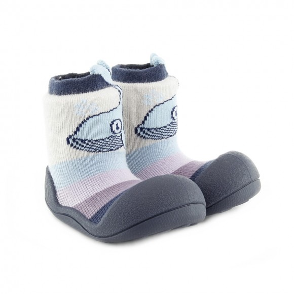 Calcetines Attipas Whale Azul