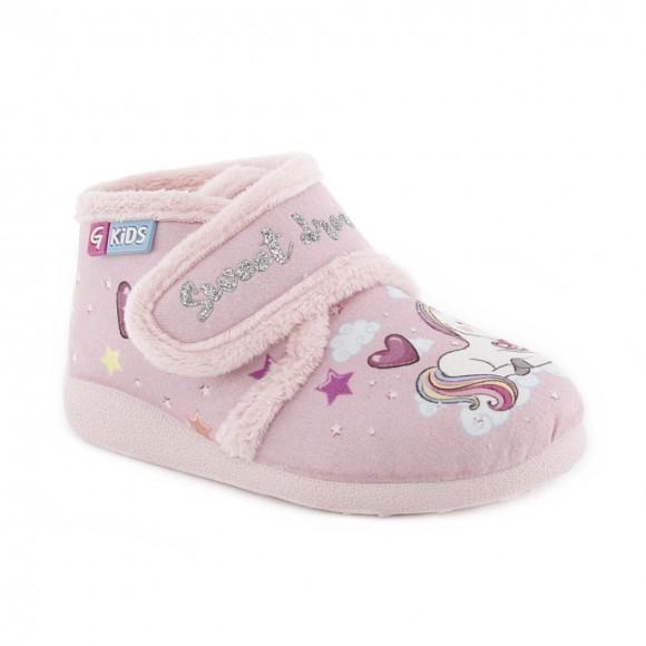 Zapatillas de casa Garzón Unicornio Rosa