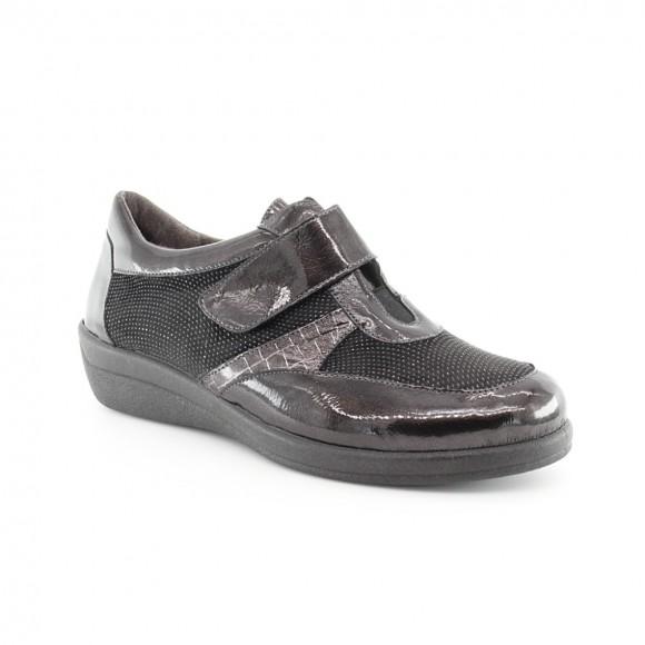 Zapatos velcro Cutillas 43510 Gris