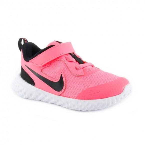 Zapatillas Nike Revolution 5 Rosa-Negro BB