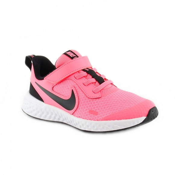 Zapatillas Nike Revolution 5 Rosa-Negro J
