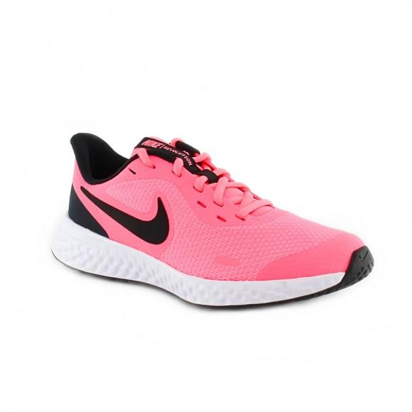 Zapatillas Nike Revolution 5 Rosa-Negro C