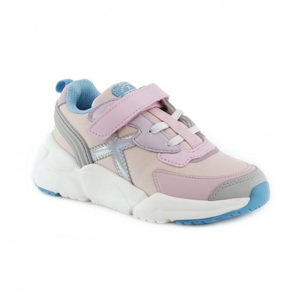 Zapatillas Munich niños Mini Track Rosa vco