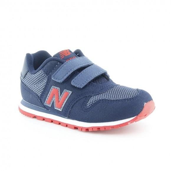 Zapatillas niños New Balance 500 Azul-Rojo .