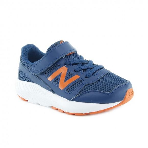 Zapatillas niños New Balance 5570 Azul-Naranja .