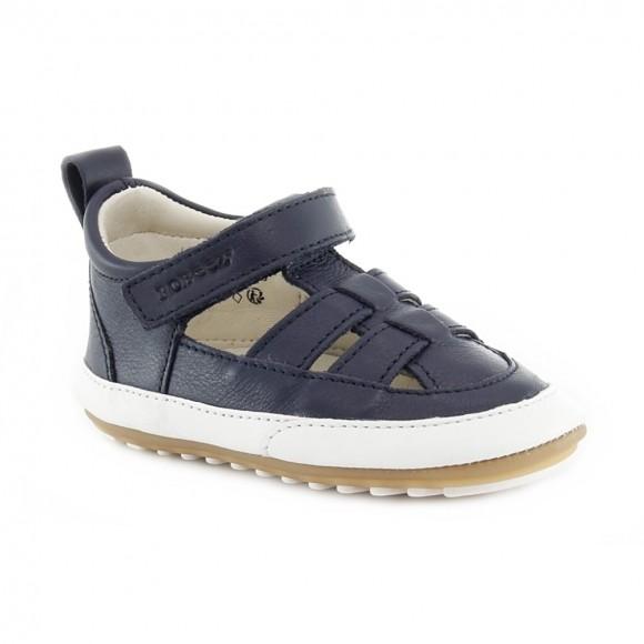 Zapatos de bebé Robeez Azul .