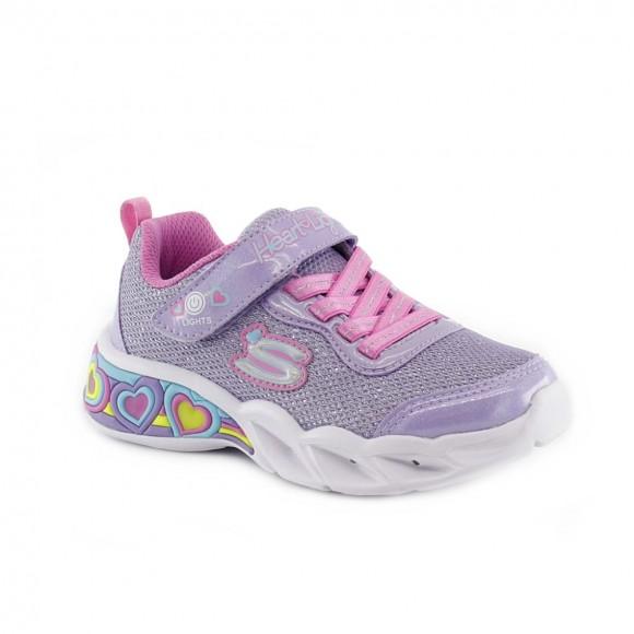 Zapatillas con luces Skechers Shimmer Spells Malva