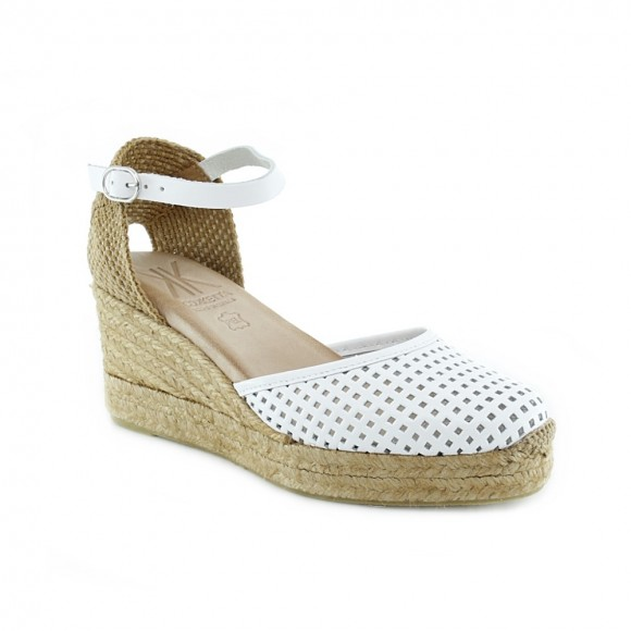Sandalias de mujer Cokketta 510-D Blanco