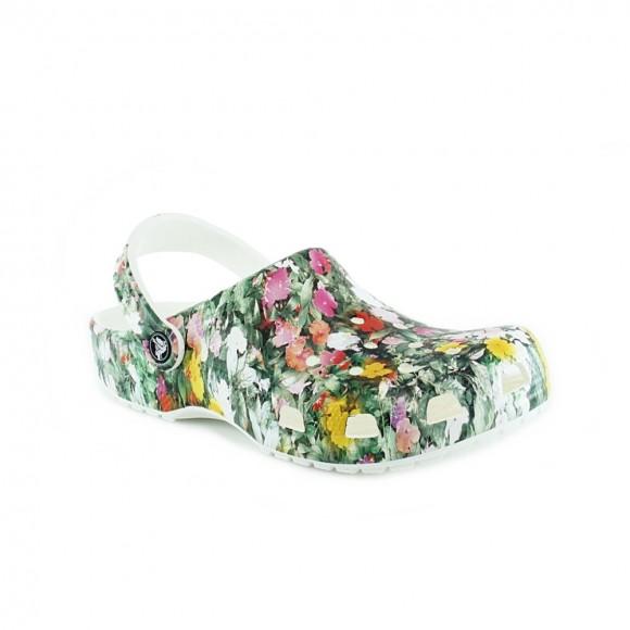 Sandalias Crocs Floral Multicolor
