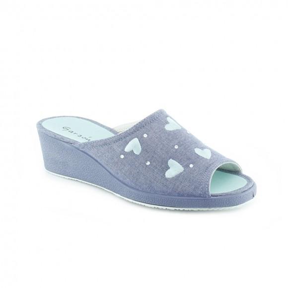 Zapatillas de casa Garzón 706.119 Jeans
