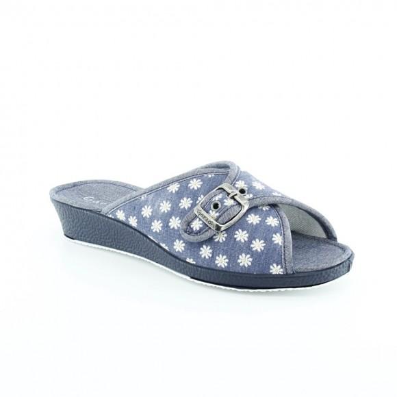 Zapatillas de casa Garzón 753.140 Azul