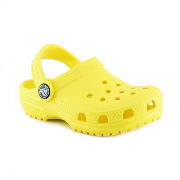 Sandalias de agua Crocs Classic Amarillo