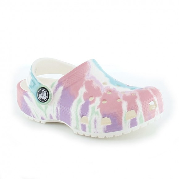 Sandalias Crocs Classic Tie Dye Multicolor