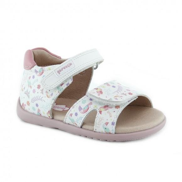Sandalias de niña Garvalin 212305-A Blanco