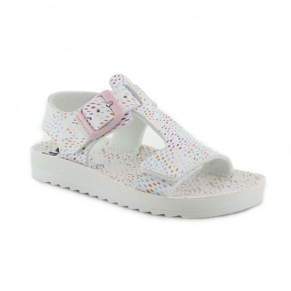 Sandalias de niña Garvalin 212330-B Blanco