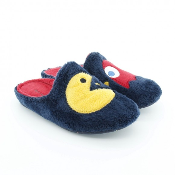 Zapatillas de casa Garzón Comecocos Azul