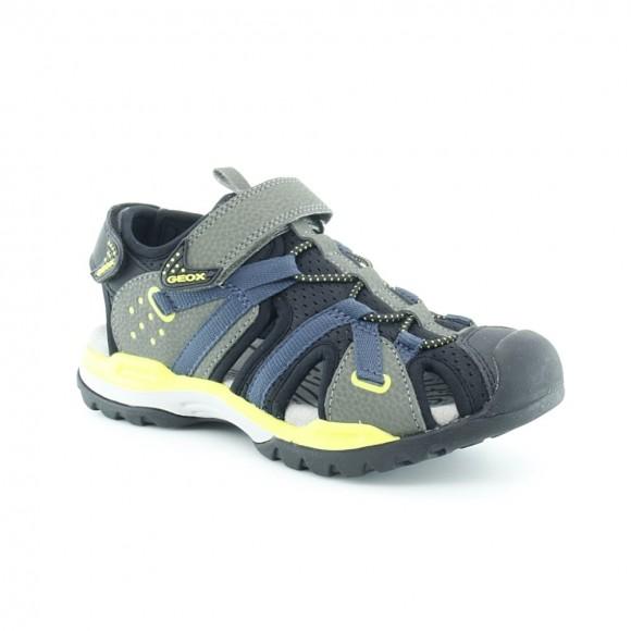 Sandalias de niño Borealis Verde-Azul