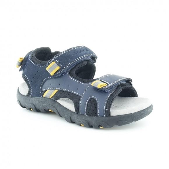 Sandalias de niño Strada Azul-Amarillo.