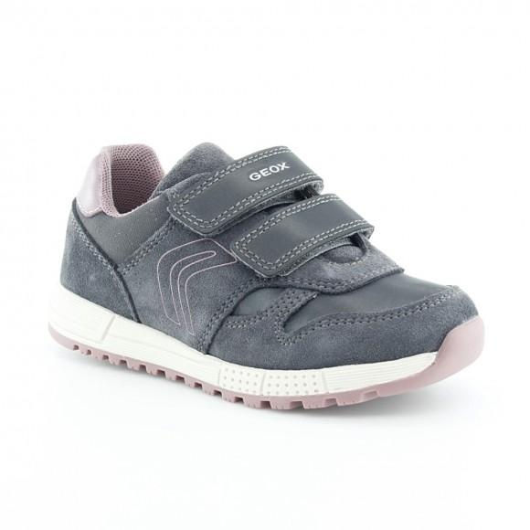 Zapatos Geox Alben Gris