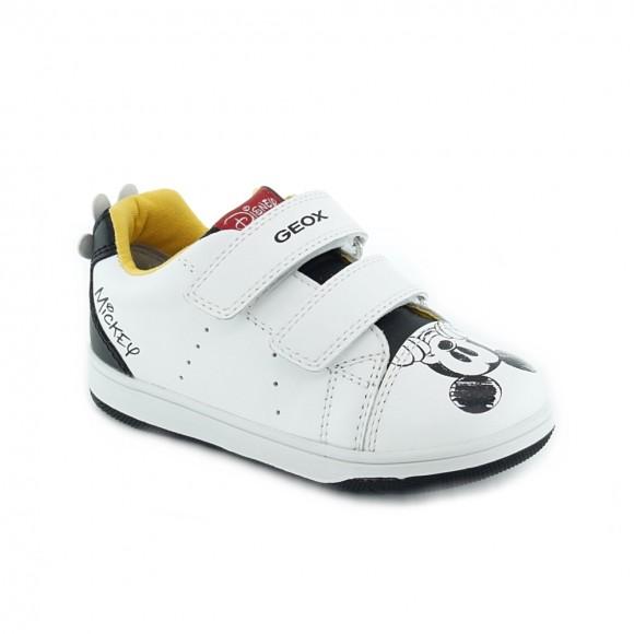 Zapatillas Geox Mickey Blanco