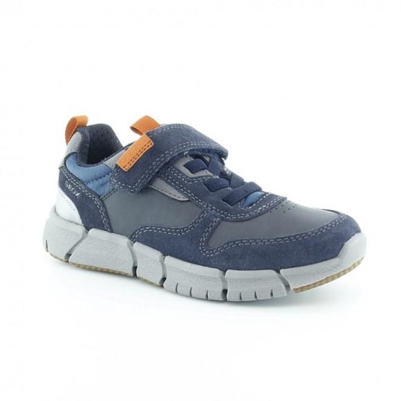 Zapatos Geox Flexper Azul-Naranja