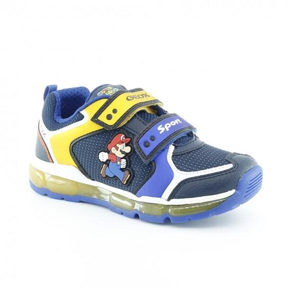 Zapatillas con luces Mario Azul
