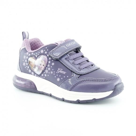 Zapatillas con luces Frozen Lila