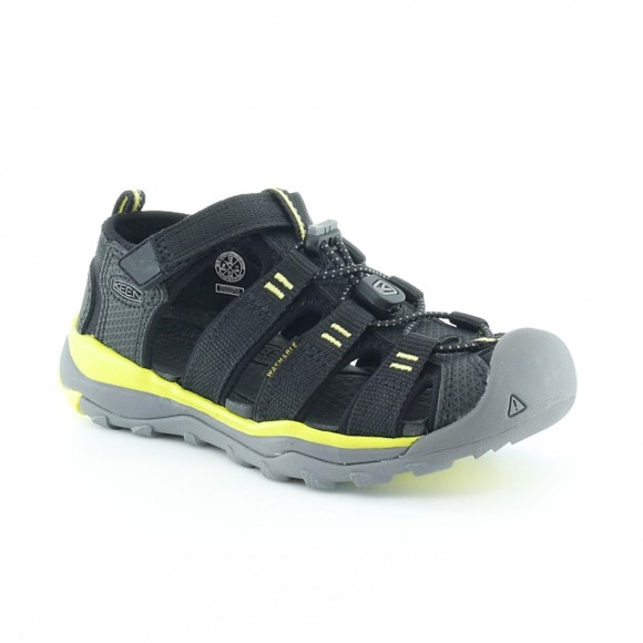 Sandalias de niño Keen Neo Negro-Lima