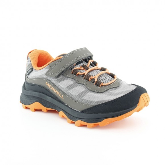 Zapatillas Merrell Moab Speed Gris-Naranja