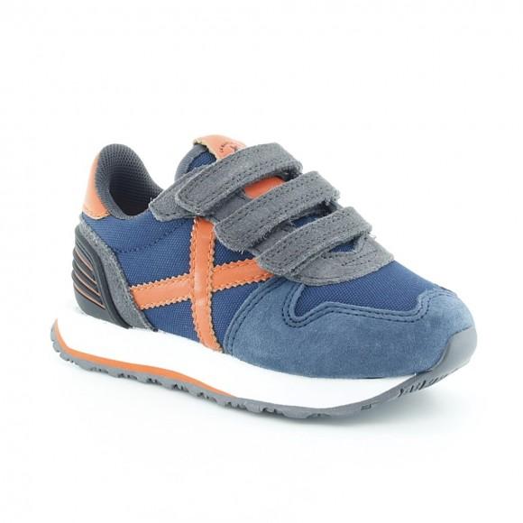 Zapatillas Munich Massana Jeans-Naranja VCO