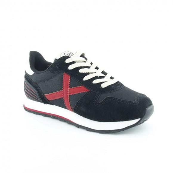 Zapatillas Munich Massana Negro-Rojo C
