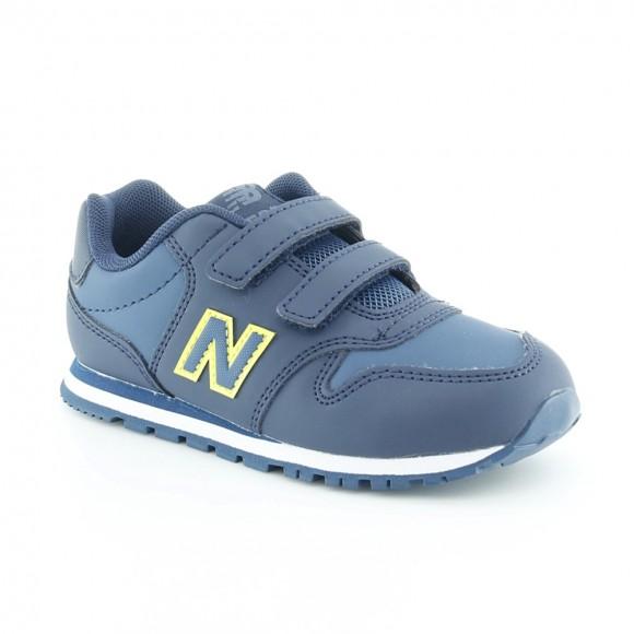 Zapatillas New Balance 500 Azul-Verde